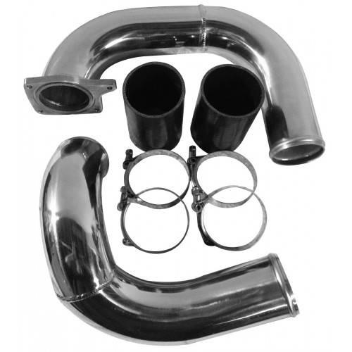 Intercooler Pipe Boot Kit /& Intake Elbow tube 03-07 Ford Powerstroke F250 F350