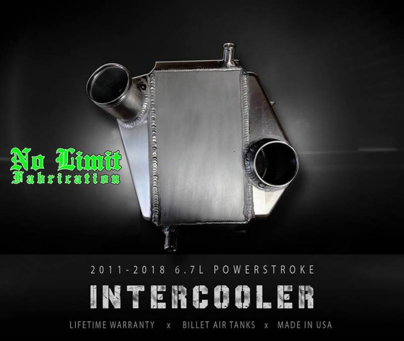 No Limit Fabrication 6.7 Powerstroke Intercooler