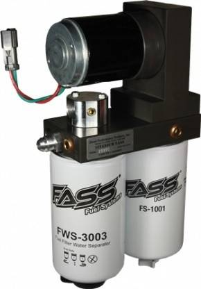 Fass  - FASS T D08 220G - 220GPH/50PSI Titanium Series for 1998.5-2004 Dodge 5.9L Cummins