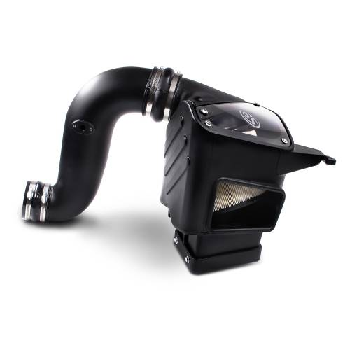 S&B Filters - S&B Filters 75-5047D Cold Air Intake Kit (Dry Disposable Filter) for 03-07 Cummins