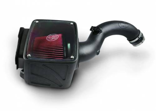 S&B Filters - S&B Filters 75-5101D Cold Air Intake (Dry Disposable Filter) for 01-04 LB7