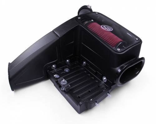 S&B Filters - S&B Filters 75-5062D Cold Air Intake Kit W/ Dry Filter for 99-03 Powerstroke