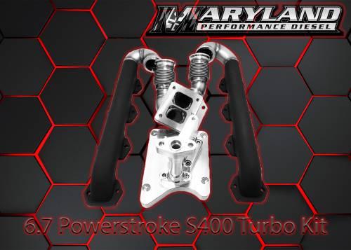 Maryland Performance Diesel - MPD 11-19 S400 Turbo Kit