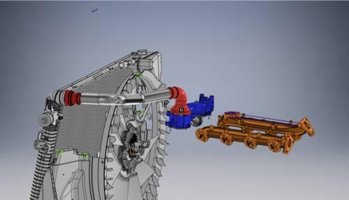 Maryland Performance Diesel - MPD 17-19 Upper Coolant Hose Kit