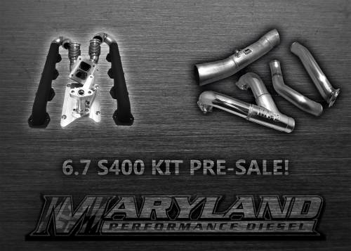 Maryland Performance Diesel - MPD 11-19 S400 Turbo Kit PRESALE DOWN PAYMENT