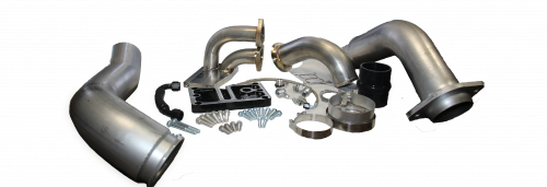 Maryland Performance Diesel - MPD 08-10 T4 Single Turbo Pedestal and Turbo Install System