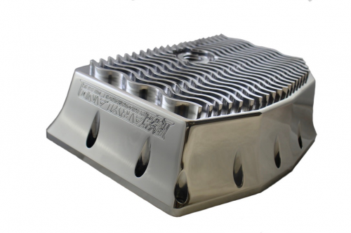 Maryland Performance Diesel - MPD 11-20 V2 Billet Oil Pan W/ Secondary Turbo Drain Bung
