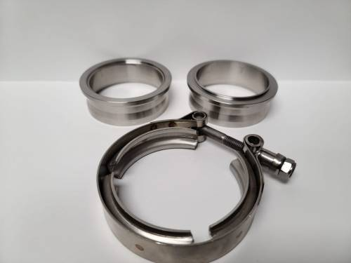 """Maryland Performance Diesel - MPD 2.75"""" CAST PIPE 304SS VBAND ASSEMBLY"""
