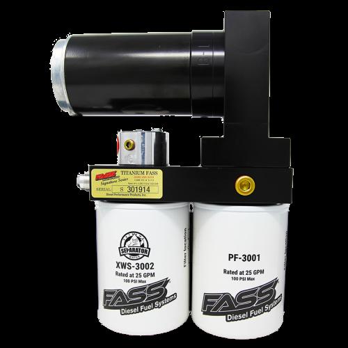 Fass  - Titanium Signature Series Diesel Fuel Lift Pump 240GPH@65PSI Ford Powerstroke 2017-2021 (TS F18 240G)