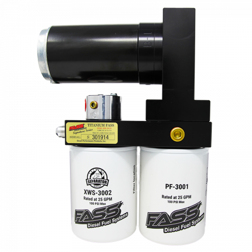 Fass  - Titanium Signature Series Diesel Fuel Lift Pump 290GPH Ford Powerstroke 6.4L 2008-2010 (TS F16 290G)