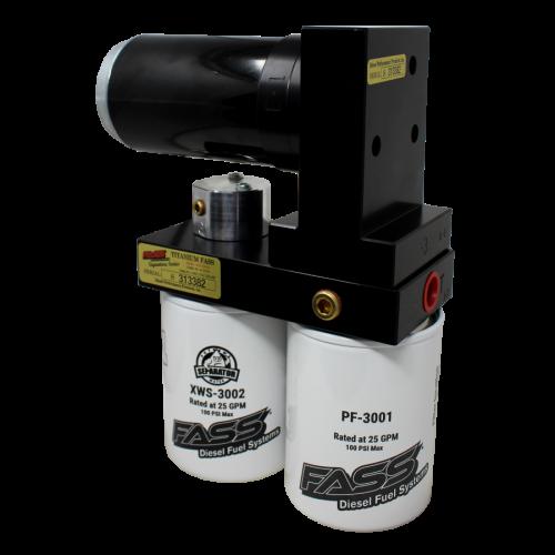 Fass  - Titanium Signature Series Diesel Fuel Lift Pump 100gph Dodge Cummins 5.9l And 6.7l 2005-2018 & 2021 (Ts D07 100g)
