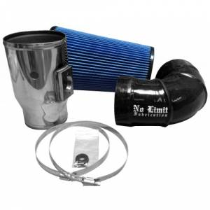 08-10 6.4L - AIR INTAKE SYSTEMS - No Limit Fabrication - No Limit Fabrication 6.4 Powerstroke Intake
