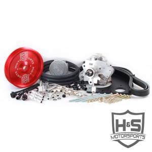 H&S Motorsports - H&S Motorsports 11-16 Ford 6.7L Dual High Pressure Fuel Kit