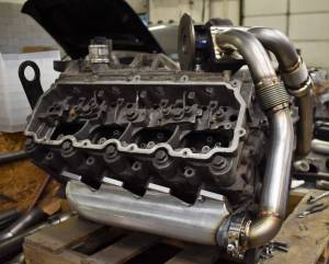 MPD Products - MPD Billet 6.0/6.4 Exhaust Manifolds