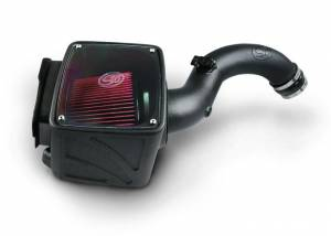 01-04 LB7 - AIR INTAKE SYSTEMS - S&B Filters - S&B Filters 75-5102D Cold Air Intake (Dry Disposable Filter) for 04.5-05 LLY