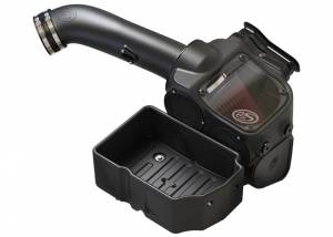 S&B Filters - S&B Filters 75-5085D Cold Air Intake for 2017 Ford Powerstroke 6.7L (Dry Filter)