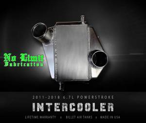 No Limit Fabrication - No Limit Fabrication 6.7 Powerstroke Intercooler