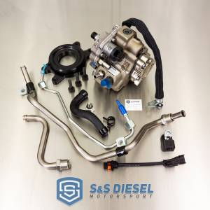 S&S Diesel Motorsports - S&S Fuel System - LML Duramax CP3 Conversions