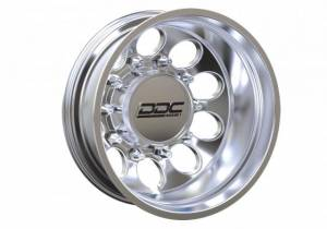 "DDC Wheels - The Hole Series Dually Wheels "" POLISHED"" - Image 2"