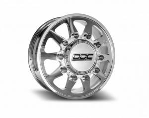 """The Ten Series Dually Wheels """" POLISHED """""""