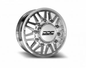 """The Aftermath Series Dually Wheels """" POLISHED"""""""